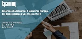 Expérience Collaborateur & Expérience Manager : les grandes leçons d'une mise en miroir