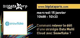 Comment relever le défi d'une stratégie Data Multi Cloud avec Snowflake ?