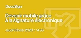 Devenir mobile grâce à la signature électronique