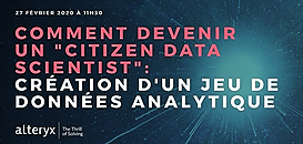 Citizen Data Scientist 2020: Comment créer un jeu de données analytique performant