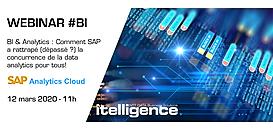 BI & Analytics : Comment SAP a rattrapé (dépassé ?) la concurrence de la data visualisation pour tous !