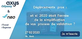 Déplacements professionnels : et si 2020 était l'année de la simplification de vos process de validation ?