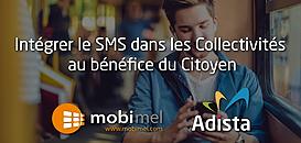 Intégrer le SMS dans les Collectivités au bénéfice du Citoyen