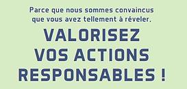 RSE : parce que nous sommes convaincus que vous avez tellement à révéler, valorisez vos actions responsables !