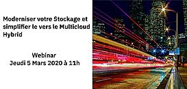 Moderniser votre Stockage de Données,  Accéder au MultiCloud Hybride & déployer les nouvelles architectures applicatives