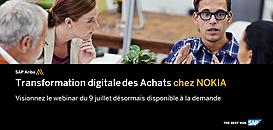 Transformation Digitale des achats chez Nokia