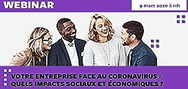 Votre entreprise face au coronavirus : quels impacts sociaux et économiques ?