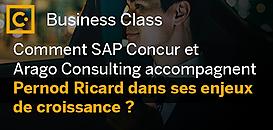 Comment SAP Concur et Arago Consulting accompagnent Pernod Ricard dans ses enjeux de croissance ?