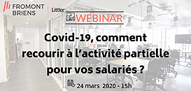 Covid-19 : comment recourir à l'activité partielle pour vos salariés ?