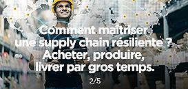 Comment maîtriser une supply chain résiliente ?
