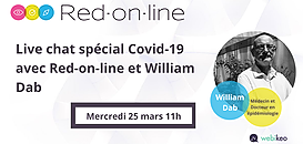Live-chat spécial Covid-19 - Red-on-line et William Dab