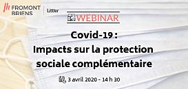 Covid-19 : Impacts sur la protection sociale complémentaire