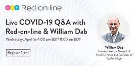 Covid-19 Live-chat - Red-on-line & William Dab Epidemiologist