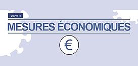 Covid-19 : les mesures économiques