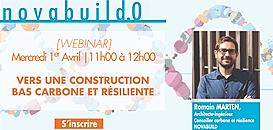 [novabuild.0] Vers une construction bas carbone et résiliente