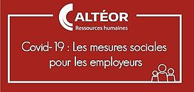 Covid 19: Les mesures sociales pour les employeurs