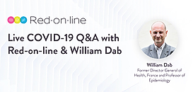 COVID-19 Live Q&A with Red-on-line and William Dab