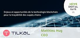 Enjeux et opportunités de la technologie blockchain pour la traçabilité des supply chains
