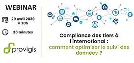 Compliance des tiers à l'international : comment optimiser le suivi des données ?
