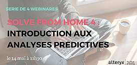 Solve From Home : Introduction aux analyses prédictives