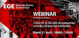 COVID 19 : la Sécurité des personnes, un enjeu clé pour les entreprises