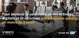 Pour soutenir la continuité de vos activités, digitalisez et sécurisez vos processus achats en moins de 3 mois