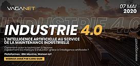 INDUSTRIE 4.0 : L'intelligence artificielle au service  de la maintenance industrielle