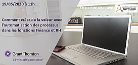 Comment créer de la valeur avec l'automatisation des processus dans les fonctions Finance et RH?