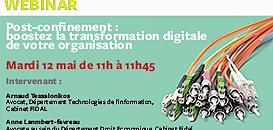 Post-confinement : boostez la transformation digitale de votre organisation