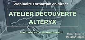 Atelier découverte Alteryx avec Actinvision