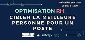 Optimisation RH : cibler la meilleure personne pour un poste