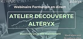 Atelier découverte Alteryx avec Keyrus