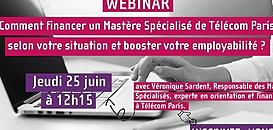 Financer un Mastère Spécialisé de Télécom Paris selon votre situation et booster votre employabilité