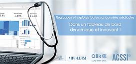 Regroupez et explorez toutes vos données médicales et médico-économiques dans un tableau de bord dynamique et innovant !