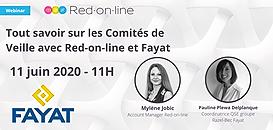 Tout savoir sur les Comités de Veille avec Red-on-line et Fayat