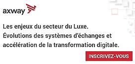 Les enjeux du secteur du Luxe. Évolutions des systèmes d'échanges et accélération de la transformation digitale