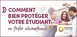 Protection sociale des étudiants : faire les bons choix pour protéger son enfant
