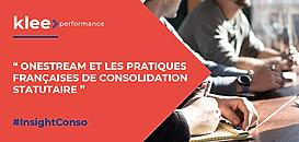 OneStream et les pratiques françaises de consolidation statutaire