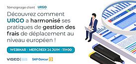 Découvrez comment URGO a harmonisé ses pratiques de gestion des frais de déplacement au niveau Européen