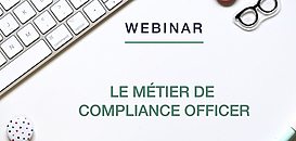 Le métier de Compliance officer