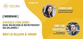 Google For Jobs - Quel bilan sur le recrutement 1 an après 📊?