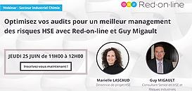 Optimisez vos audits pour un meilleur management des risques HSE avec Red-on-line et Guy Migault