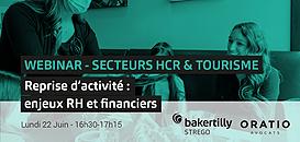 SECTEURS HCR & TOURISME  - Reprise d'activité : enjeux RH et financiers