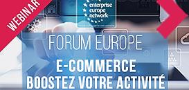 Comment booster votre activitéen Europegrâceau e-commerce?