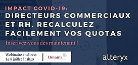Impact Covid-19: directeurs commerciaux et RH, recalculez facilement vos quotas