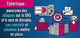 Cyberisque : panorama des attaques sur le DNS et le nom de domaine, cas concrets et solutions à mettre en place