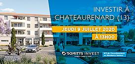 Investir en Résidence Seniors à Châteaurenard (13h)