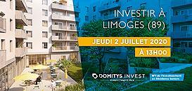 Investir en Résidence Seniors à Limoges (13h)