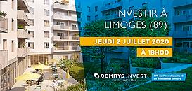 Investir en Résidence Seniors à Limoges (18h)