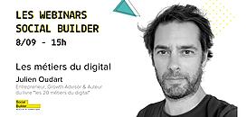 Les webinars Social Builder - Les métiers du digital